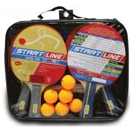Набор ракеток для настольного тенниса Start Line 200 4 ракетки 6 мячей