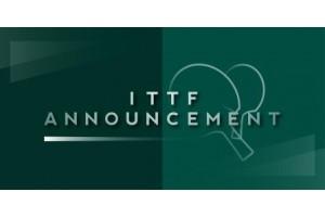 Международная федерация настольного тенниса в очередной раз пересмотрела даты проведения командного Чемпионата мира-2020 в Пусане (Южная Корея).