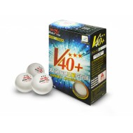 Мячи для настольного тенниса Double Fish 40+ 3*, 6 мячей в упаковке