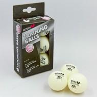 Мячи для н/т BUTTERFLY 40+ Training, бел. 6шт.