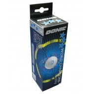 Мячи для н/т DONIC P40+ 3*** бел. 3 шт.