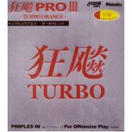 Накладка NITTAKU HURRICANE PRO III TURBO ORANGE